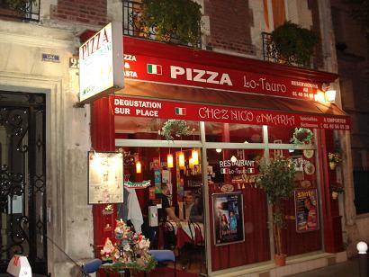 Restaurant italien pizza lo tauro sp cialit italienne for Exterieur italien